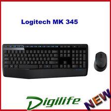 Logitech Mk345 Wireless Combo Keyboard + Mouse Extra-long battery life