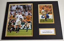 Jonny Wilkinson SIGNED autograph 16x12 photo display Rugby Union AFTAL & COA