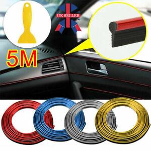 Car Interior Trim Decoration Strip Decals Line Dashboard Door