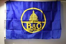 Baltimore & Ohio Company Flag 2'x3' Made in USA w Free ship!