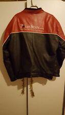Poker Stars Leather Jacket size:L
