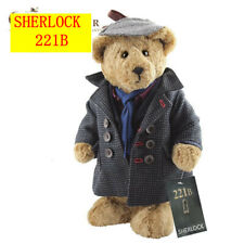 FURLOCK Official Sherlock Holmes bear limited teddy bear Hartswood Sherlock BBC