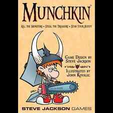 Munchkin Base Set Steve Jackson Games Brand New Factory SEALED