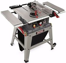 NEW! Craftsman Table Miter Saw W/ 10 Inch Wood Cutting Laser Trac Gauge Tool Set