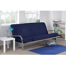 Futon Sofa Bed With Mattress Convertible Sleeper Lounger Dorm Couch New