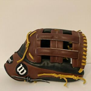 "2016 Wilson RHT A2K 1799 12.75"" Outfield Baseball Glove Pro Stock WTA2KRB161799"