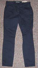 ANN TAYLOR LOFT Dark Gray Skinny Straight Through Hip Pants Size 0P or 0 Petite