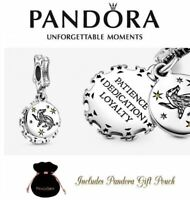 New Authentic Pandora S925 ALE Harry Potter Hufflepuff Dangle Charm 798832C01