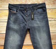 NEW Diesel Jeans BUSTER in Denim W36x L32 Reg.Slim-Tapered $228.00