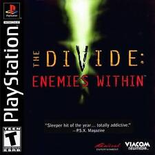 THE DIVIDE ENEMIES WITHIN   ( JEUX PLAYSTATION 1 ) COMPLET -- CIB