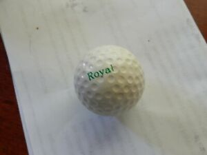 Vintage Royal Golf Ball With Flower Logo Unused Antique