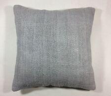 Handmade Hemp Pillow Cover 18x18 Home Decorative Sofa Couch Lumbar Cushion  1527