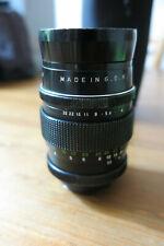 PENTACON 135mm F2.8 15 Blade Lens. M42 mount with Canon adaptor. Bokeh Monster!