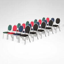 20 X Stapelstuhl  Stapelstühle gepolstert Bankettstühle Stapelbare Bistrostühle