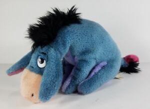 Gund Disney 100 Acre Collection Eeyore 8 inch gray donkey plush stuffed animal