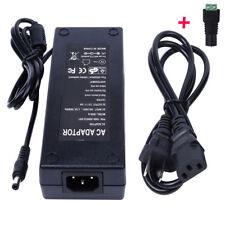 Quality 12V 10A 120W DC POWER Supply ADAPTER Transformer RGB LED Strip, CCTV, PC