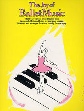 The Joy Of Ballet Music Learn to Play Swan Lake Coppelia Giselle Piano Book