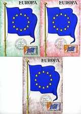 FRANCE - LOT 3 CM 1° jour, Conseil d' EUROPE,  16.1.65