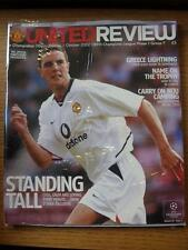 01/10/2002 Manchester United v Olympiakos [European Cup] (No apparent faults).