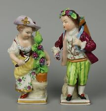 "Sitzendorf pair of figurines ""Garden Children"" WorldWide"