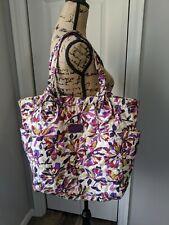 Marc Jacobs Shoulder Bag Purse Tote Soft Large Multicolor Pink Purple White