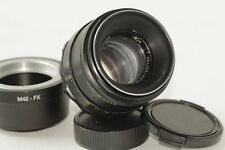 HELIOS 44-2 soviet russian vintage lens made in USSR + adapter M42-FX for Fuji