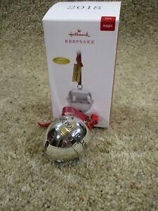 Hallmark Keepsake Ornament 2018 Polar Express Bell First Gift of Christmas Magic