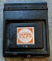 Vintage Doran Premier Paper Safe 8.5x11 Protects Sensitized Film or Paper