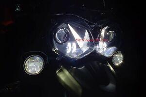 Triumph TIGER  - LED Projection Headlight  ...  NEW MOD!