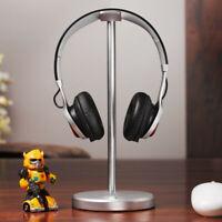 For Beats JBL Bose Headphones Solid Base Classic Aluminum Desktop Stand - Silver