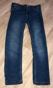 Girls Blue F&F Jeans Size 5-6 Years