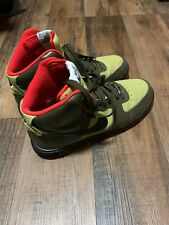 Rare Nike Airforce 1 Trainers Lunar Force 1 Parachute Gold