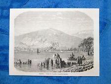 Gravure Année 1861 - Guemlek (France-Francia)