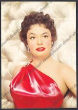 RUTH ROMAN 05b ATTRICE ACTRESS ACTRICE CINEMA USA Cartolina VIAGGIATA 1951