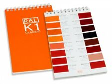RAL K1 Classic Colour Chart - Brand new. Ring bound guide. Latest Version