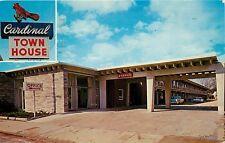 Cardinal Town House Florence South Carolina SC old cars pm 1960s Postcard