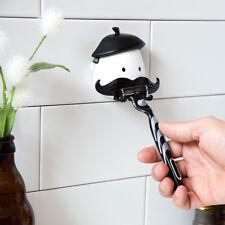 Mr. Razor Holder Mustache Bath Shave Hanger Peleg Design Bath Shave Original New