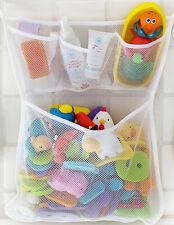 Large Baby Kids Bath Bathtub Toy Mesh Net Storage Bag Organizer Holder Bathroom