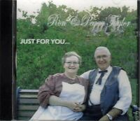 Just For You ~ Ron and Peggy Taylor ~ Christian ~ Gospel ~ Country ~ CD ~ New