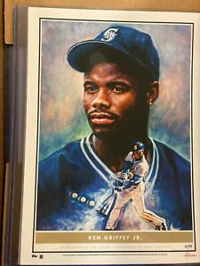 2020 Topps Game Within The Game #3 Ken Griffey Jr. Fine Art Print 10x14 #d /99