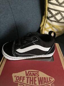 Baby Vans Old Skool Crib Shoes