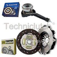 LUK 2 PART CLUTCH KIT WITH SACHS CSC FOR RENAULT TRAFIC BUS 1.9 DCI 80