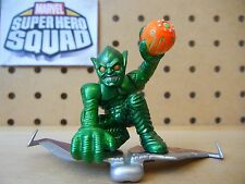 Marvel Super Hero Squad GREEN GOBLIN on Glider Movie Version from Wave 1