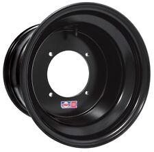 "Can-Am DWT Red Label Black Rear Rim 12"" x 10"" 4/136 mml Offset 5 + 5 705501717"
