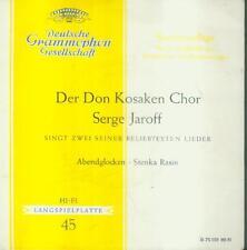 "7"" Don cosacchi coro Serge Jaroff/sera campane"