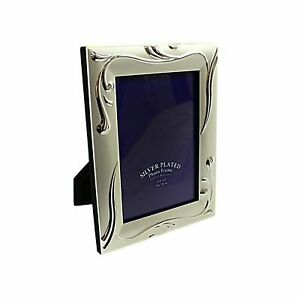 Silver Plated Picture Photo Poster Frame For Desk 5 x 7 6 x 8 x 10