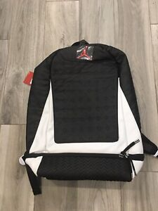 "NEW Air Jordan Retro 13 ""He Got Game"" Basketball Backpack Black/White 9A1898-210"