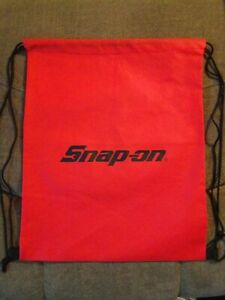 New SNAP-ON Tools Drawstring Sackpack Travel / Carry Bag