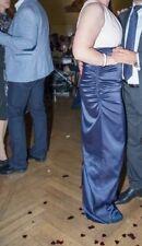 Mariposa kleid lang blau