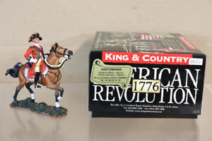 KING & COUNTRY BR033 AMERICAN REVOLUTION 1776 BRITISH GERNERAL CORNWALLIS paf